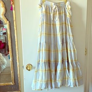 FREE PEOPLE Maxi Skirt SMALL